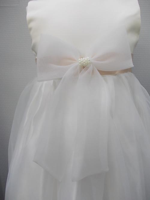 Kleid für den besondern Anlass in div. Größen, creme - nudefarbig