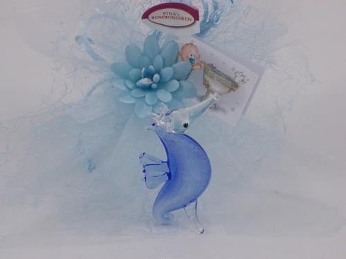 Bomboniere Seepferdchen - Ippocampo blau