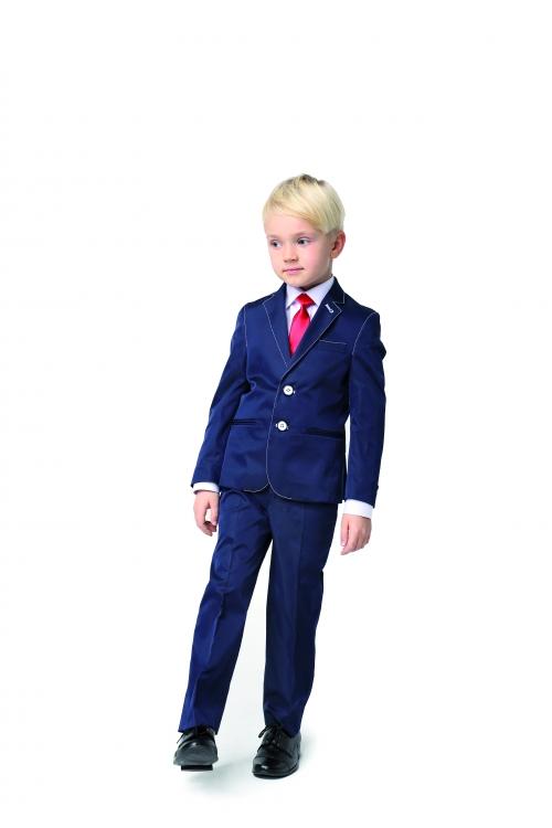 Anzug in blau