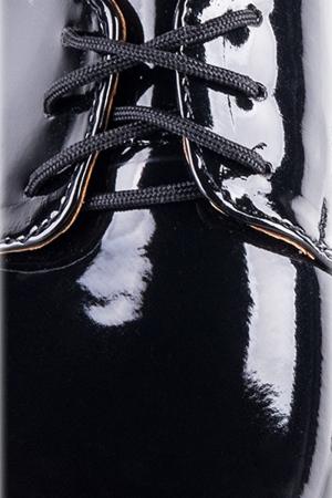 schwarzer Lacklederschuh Gr. 21-38