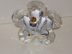 Kristall mit Kelch