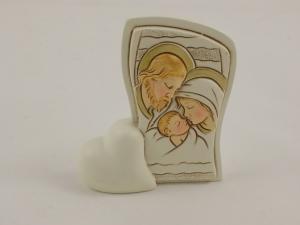 Bomboniere Herzchenaufsteller Heiligen Familie